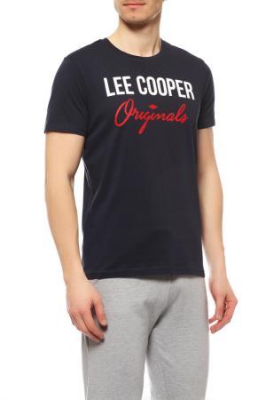 Футболка LEE COOPER. Цвет: dark navy