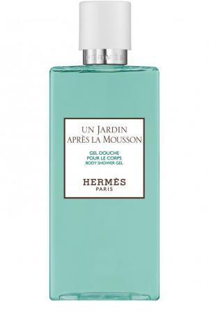 Гель для душа Un Jardin après la Mousson Hermès. Цвет: бесцветный