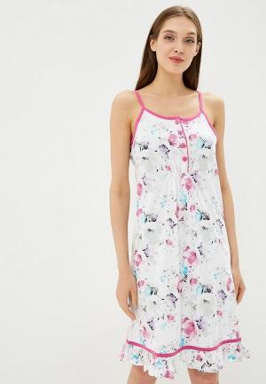 Сорочка ночная Kinanit. Цвет: белый