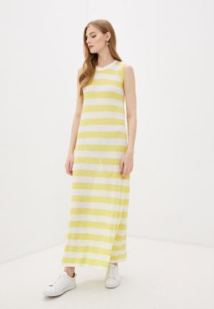 Платье Woolrich. Цвет: желтый
