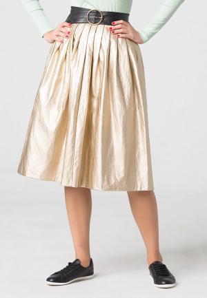 Юбка Fashion Code. Цвет: золотой