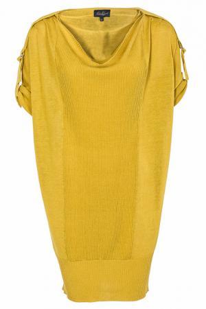 Платье LUISA SPAGNOLI. Цвет: желтый