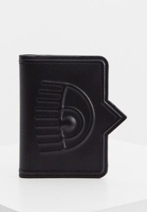 Обложка для паспорта Chiara Ferragni Collection. Цвет: черный