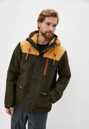 Куртка горнолыжная Icepeak. Цвет: хаки