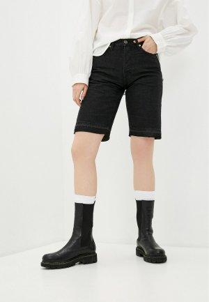 Шорты джинсовые Bimba Y Lola. Цвет: черный