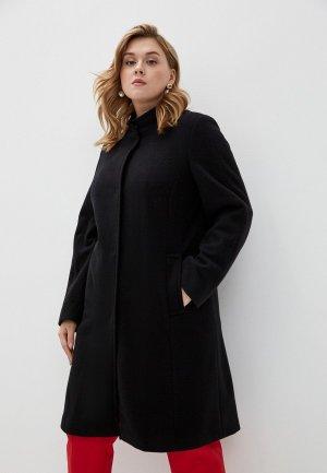Пальто Persona by Marina Rinaldi. Цвет: черный