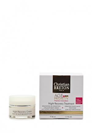 Крем для лица Christian Breton Paris. Цвет: белый