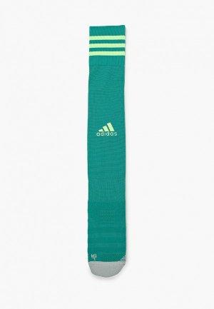 Гетры adidas. Цвет: бирюзовый