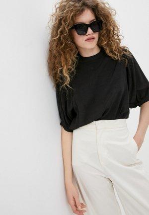Блуза Ichi. Цвет: черный
