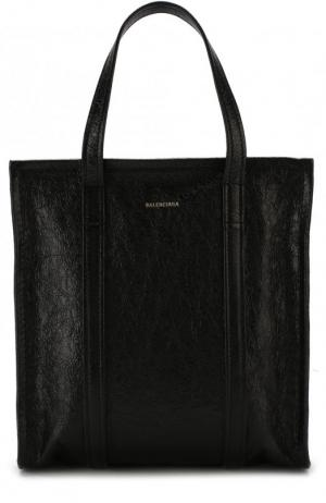 Сумка Bazar Shopper S Balenciaga. Цвет: черный