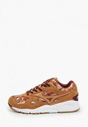Кроссовки Mizuno. Цвет: коричневый