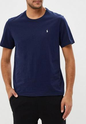 Футболка домашняя Polo Ralph Lauren. Цвет: синий