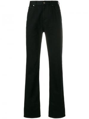 Расклешенные к низу джинсы Calvin Klein 205W39nyc. Цвет: чёрный