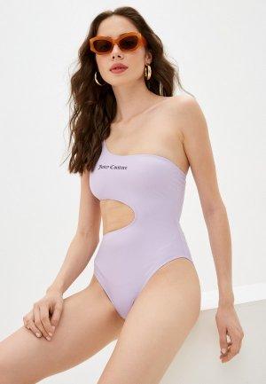 Купальник Juicy Couture. Цвет: фиолетовый