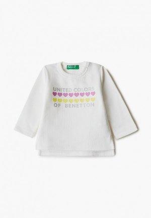 Свитшот United Colors of Benetton. Цвет: белый