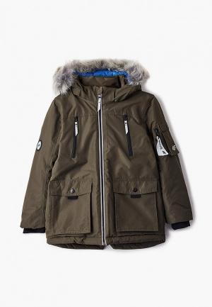 Куртка утепленная 4F. Цвет: хаки