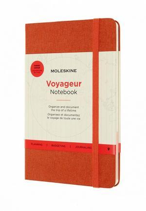 Блокнот Moleskine. Цвет: оранжевый