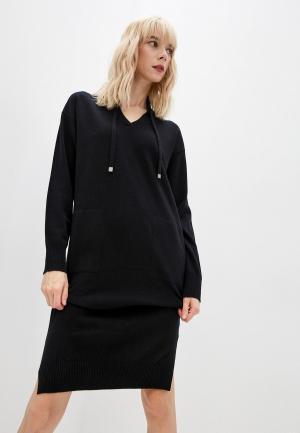 Платье Cappellini. Цвет: черный