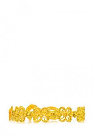 Браслет Cruciani C. Цвет: желтый