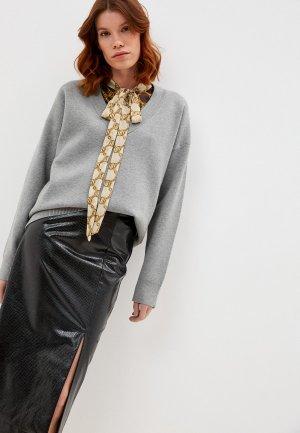 Пуловер Twinset Milano. Цвет: серый