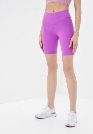 Шорты спортивные Sitlly. Цвет: фиолетовый