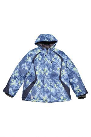 Куртка DEVANCE. Цвет: синий