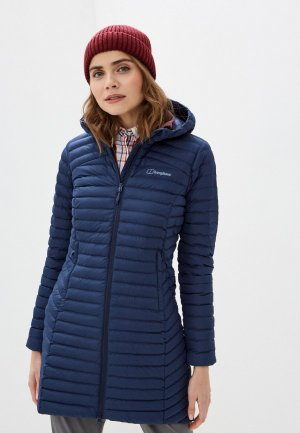 Куртка утепленная Berghaus. Цвет: синий