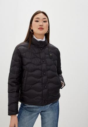 Куртка утепленная Blauer USA. Цвет: черный