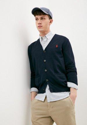 Кардиган Polo Ralph Lauren. Цвет: синий