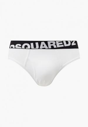 Трусы Dsquared2 Underwear. Цвет: белый