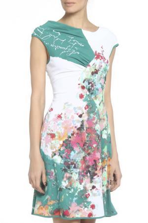 Платье Didier Parakian. Цвет: зеленый