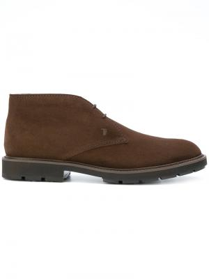 Ботинки-дезерты Tods Tod's. Цвет: коричневый