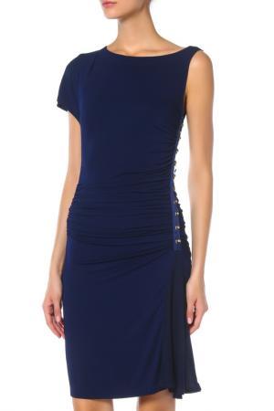 Платье ANGELO MARANI. Цвет: черный(синий)