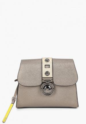 Сумка Cromia. Цвет: серый