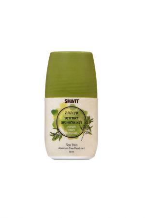 Дезодорант Чайное дерево SHAVIT. Цвет: белый