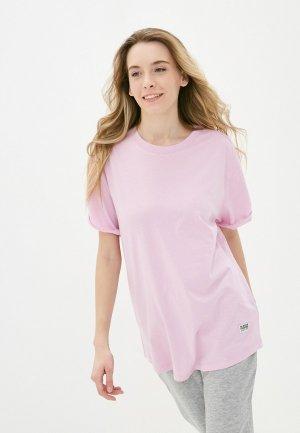 Футболка G-Star. Цвет: розовый