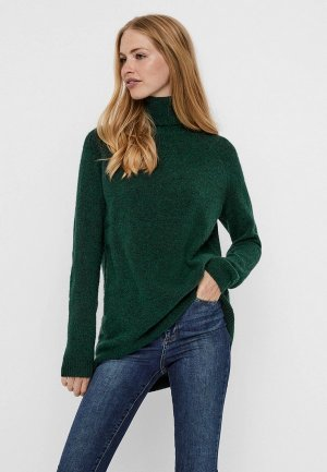 Свитер Vero Moda. Цвет: зеленый