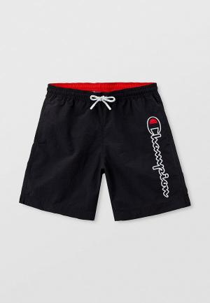 Шорты для плавания Champion. Цвет: черный