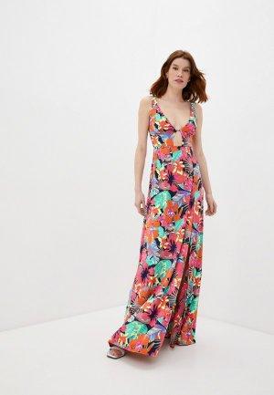 Платье пляжное Maaji. Цвет: разноцветный