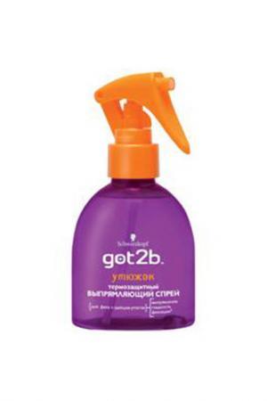 Выпрямляющий спрей для волос У GOT2B. Цвет: none