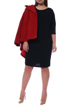 Платье KAFFE. Цвет: темно-синий