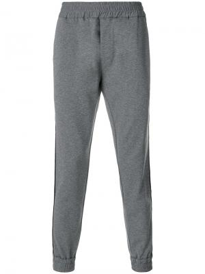 Спортивные брюки Hydrogen. Цвет: серый