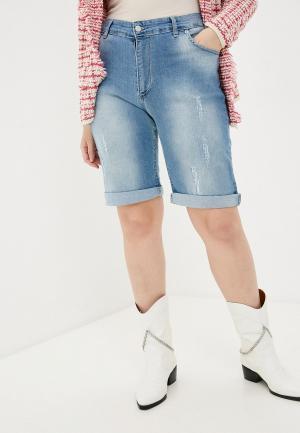 Шорты джинсовые Sophia. Цвет: голубой