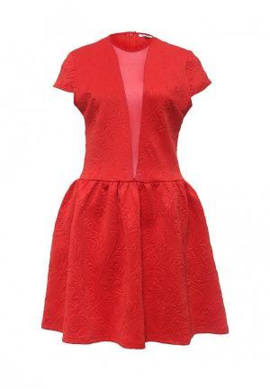 Платье Brigitte Bardot. Цвет: красный
