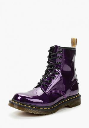 Ботинки Dr. Martens. Цвет: фиолетовый