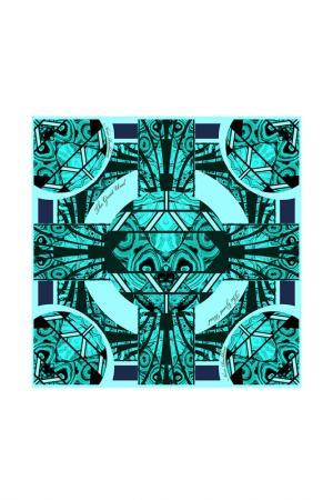 Платок Малахитовая шкатулка РУССКИЕ В МОДЕ. Цвет: изумрудный