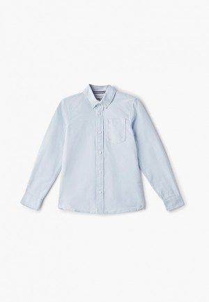 Рубашка Produkt. Цвет: голубой