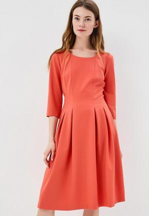Платье Aelite. Цвет: коралловый