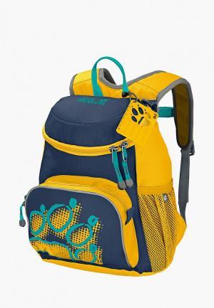Рюкзак Jack Wolfskin. Цвет: желтый