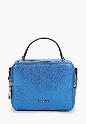 Сумка Cromia. Цвет: синий